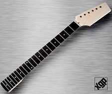 XGP Professional Strat Style Neck Rosewood Fingerboard Unfinished Paddle Headstock