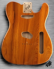 XGP Professional Tele Body Dark Natural Swamp Ash