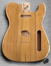 XGP Professional Tele Body Clear Gloss Solid Swamp Ash