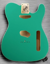 XGP Professional Double Bound Tele Body Seafoam Green