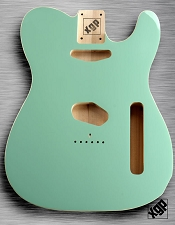 XGP Professional Double Bound Tele Body Surf Green