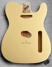 XGP Professional Double Bound Tele Body Vintage Cream