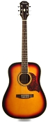 Sunburst Solid Spruce Top Mahogany back and sides with Binding