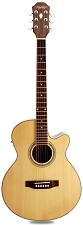 Medium Jumbo Cutaway Acoustic-Electric, Spruce Top, Fishman Pickup