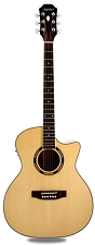 Medium Jumbo Acoustic-Electric- Solid Spruce, Rosewood Back,sides