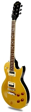 NEW! XV-500 Carved Top Flamed maple Metallic Gold Top