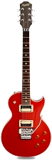 NEW! XV555 Double Locking Tremolo Carved Top LP Rocket Red