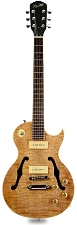 XV-560 Semi Hollow Carved Quilt Maple Top Clear Gloss - OLD Headstock