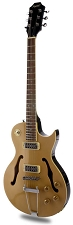XV-570 Rockabilly Semi-Hollowbody Minitron Humbuckers Bamboo Tan - Blem