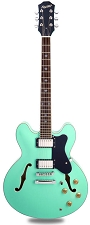 NEW! XV-900 Semi Hollowbody Alnico Fat Pats Surf Green - Blem