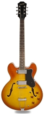 XV-910 Semi Hollow GFS Alnico Dogears Faded Vintage Sunburst