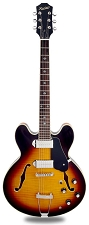 NEW! XV-910 Semi Hollow GFS Alnico Dogears Vintage Sunburst