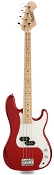 PB Bass Alder Body Maple Neck Candy Apple Red Maple Fingerboard