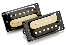 CLEARANCE- GFS Calibrated Pair Ferrite Zebra Humbucker Pickups