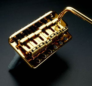 LEFTY Vintage Gold Tremolo fits Mexican, Korean, Chinese made guitars