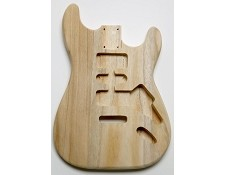 Unfinished LIghtweight Stratocaster Style HS Body - Blem