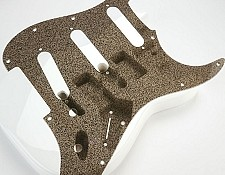 "Stratocaster Pickguard See Through ""Starmist"" Finish"