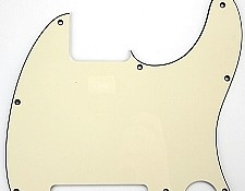 "8 Hole Esquire Style Pickguard ""1964 Aged White"""