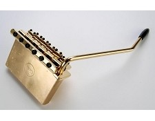 USA Spaced Solid Brass Block Tremolo GOLD- Complete Kit