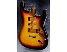 Stratocaster Style Lightweight Body Flamed Maple Top 3Tone Burst