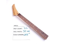 Clear Gloss Finished, Maple Neck with Rosewood Fingerboard - No Frets