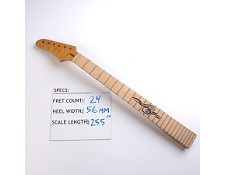 Satin Finished, Maple Neck with Maple Fingerboard