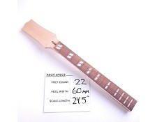 Unfinished, Maple Neck with Rosewood Fingerboard - 12 Strings