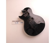 Gloss Finished, Black, Single Cutway Body, HH - LEFTY