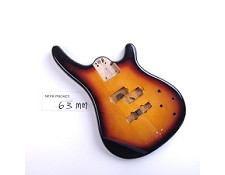 "Gloss Finished, Vintage Sunburst, ""Fender Style"" Bass Body"