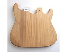 Unrouted Guitar Body / Cutting Board - Double Neck Style