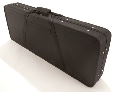NEW! Featherweight Ballistic Nylon HARD-SIDED Strat/Tele Gig Bag/Case