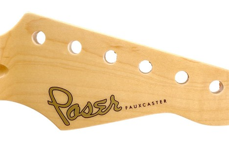 "Waterslide Decal ""Poser Fauxcaster"""