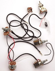 kwikplug lp dual coil tap humbucker wiring harness pre soldered drop in. Black Bedroom Furniture Sets. Home Design Ideas