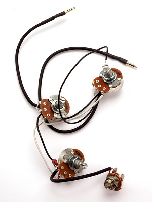 Jazz Bass Wiring Harness- PRE-SOLDERED Drop-In