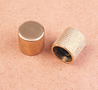 XGP Brand SOLID BRASS Slick Guitars Telecaster style knobs (Flat Top)