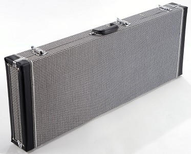 "PREMIUM Cloth ""1969 Camaro Houndstooth"" Case fits Strat/tele"