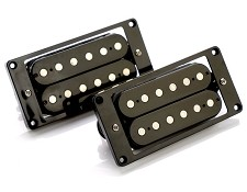 CLEARANCE- GFS Calibrated Pair ALnico Black Humbucker Pickups