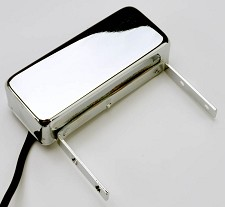 GFS FAT Jazz Alnico Neck pickup- Vintage Archtop Pickup Chrome