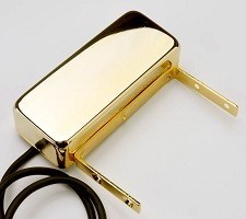 GFS FAT Jazz Alnico Neck pickup- Vintage Archtop Pickup GOLD