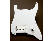 Single Humbucker EVH Rig- In White!