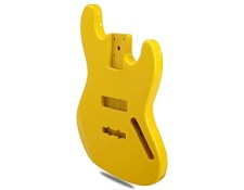"PRICE SLASHED! ""Dano-Flake"" Yellow Jazz Bass Lightweight Body"