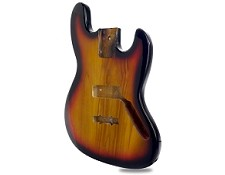 Jazz Bass Lightweight Body Tobacco Sunburst