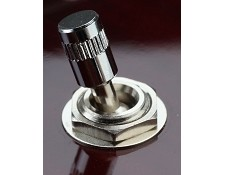 "Correct ""Rockabilly"" style Toggle Switch Tip Chrome"