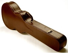 PREMIUM Brown GatorHardshell Case fits Les Paul Burgundy Interior- OUR BEST