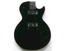 LP Special Style Solid mahogany Body Gloss Black