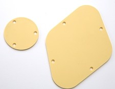 LP rear control covers- Cream Pebble texture.