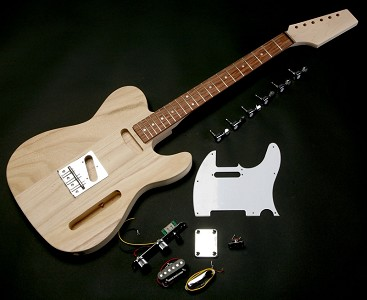 Super Lightweight Tele Style kit with Rosewood