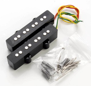 Jazz Bass Pickups- matched pair- ceramic magnets