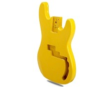 "PRICE SLASHED! ""Dano-Flake"" Yellow P Bass Lightweight Body"