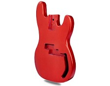METAFLAKE SPARKLE Red P Bass Lightweight Body